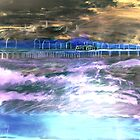 AnOther OReilly ORiginal Painting 50 Shades of shari 's Pier acrlyic by Timothy C O'Reilly