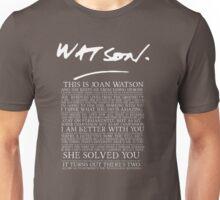joan watson-alternate Unisex T-Shirt