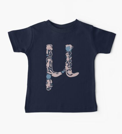 The Letter Mu Baby Tee