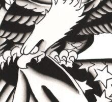 Eagle & Flag Sticker