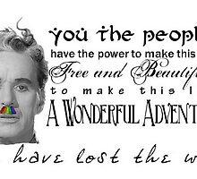 Charlie's wisdom by Schemadreamz
