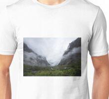 What Awaits - Homer Tunnel  Unisex T-Shirt