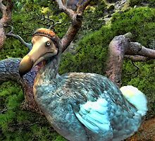 ☝ ☞RARE EXTINCT- DODO BIRD (RAPHUS CUCULLATUS) CARD/PICTURE ☝ ☞  by ╰⊰✿ℒᵒᶹᵉ Bonita✿⊱╮ Lalonde✿⊱╮