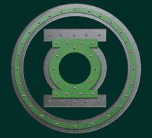 Steel green lantern by nick94