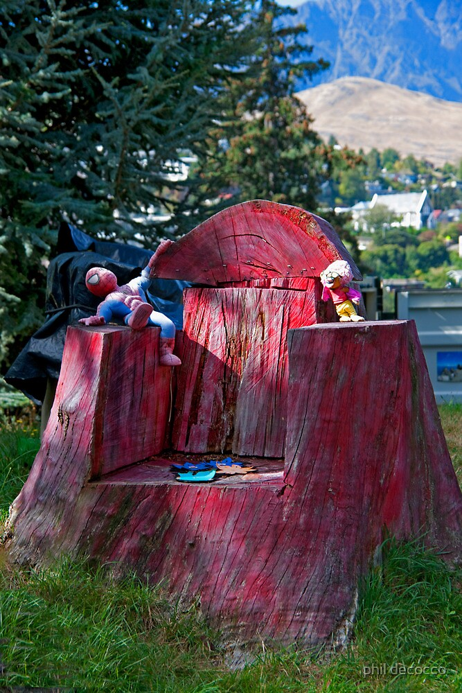 Lumber Jack Chair by phil decocco