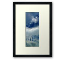 ©HCS Clouds Pattern Framed Print