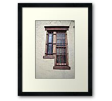 Step Left Framed Print