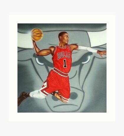 Derrick Rose Art Print