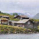 Huts near Gjendesheim, Norway by CongressTart