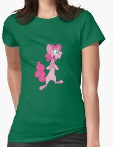 Pinky Pie Womens Fitted T-Shirt