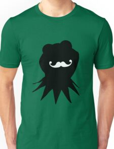 Kermit the Moustached Frog Unisex T-Shirt
