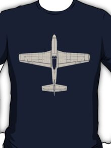 North American P-51D Mustang T-Shirt