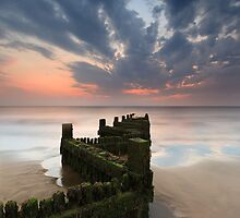 Hunstanton beach by Justin Minns