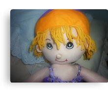 Ruby - Rag-doll Canvas Print