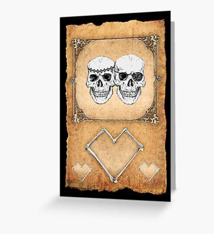pirate love Greeting Card