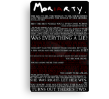 Mor(ia)rty (alternate) Canvas Print