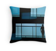atrium day (aria)  Throw Pillow