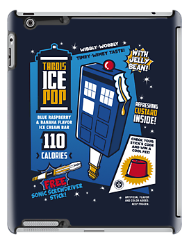 Tardis Ice Pop by Olipop