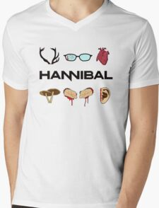 Hannibal Season One Mens V-Neck T-Shirt