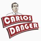 Carlos Danger aka Anthony Weiner T Shirt by BroadcastMedia