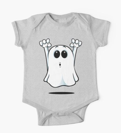 Cartoon Ghost - Going Boo! One Piece - Short Sleeve
