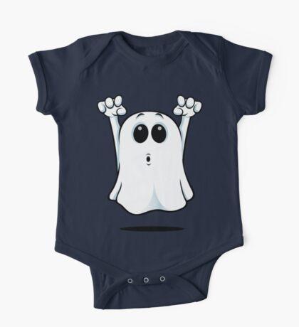 Cartoon Ghost - Going Boo! One Piece - Short Sleeve