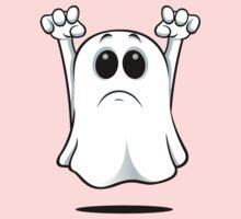 Cartoon Ghost - Sad One Piece - Long Sleeve