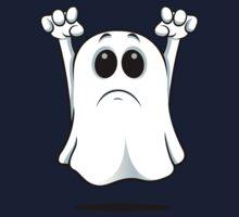 Cartoon Ghost - Sad Baby Tee
