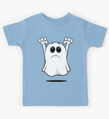 Cartoon Ghost - Sad Kids Tee