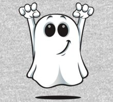 Cartoon Ghost - With A Cheeky Grin. Kids Clothes