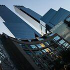 New York Curves and Skyscrapers by Georgia Mizuleva