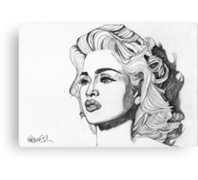 Madonna 6 Canvas Print