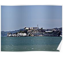 """The Rock""  -  Alcatraz Island Poster"