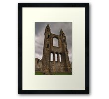 Magestic View to the Gods Framed Print