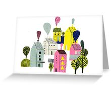 Little Town Stories 2 Greeting Card