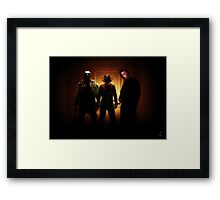 Pick your Nightmare Framed Print