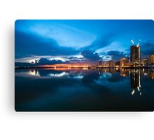Manila Sunset Canvas Print