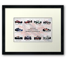Best of British Framed Print