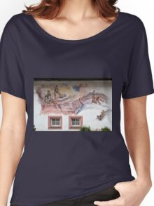 Wall Painting in Saltria Women's Relaxed Fit T-Shirt