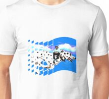 Windows 98 Lean riding & nice doggo Unisex T-Shirt