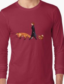 Fox & Dana Long Sleeve T-Shirt