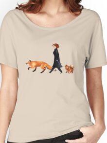 Fox & Dana Women's Relaxed Fit T-Shirt