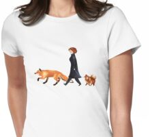 Fox & Dana Womens Fitted T-Shirt
