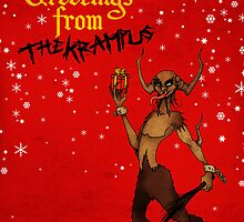 Seasons Greetings from The Krampus by Luke Barclay