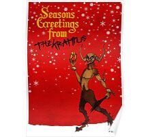 Seasons Greetings from The Krampus Poster