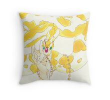 Albino Python Throw Pillow
