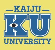Kaiju University Kids Clothes