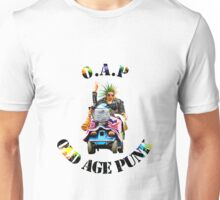 O.A.P - OLD AGE PUNK (Mobility Scooter) Unisex T-Shirt