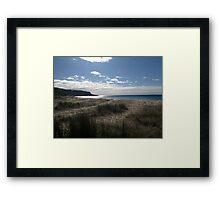 'Grassy Shores' Framed Print