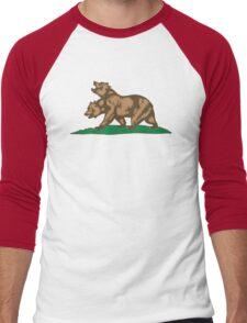 New Bears of the Californian Republic Men's Baseball ¾ T-Shirt